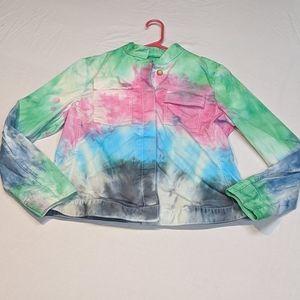 Gap maternity tye dye jacket